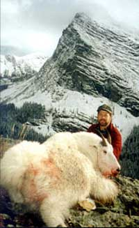 Trophy Mountain Goat Hunting in Montana